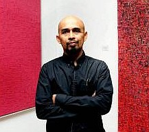 Ahmad Shukri's new works are all about balance