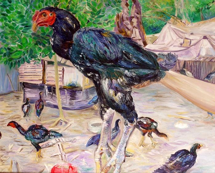 Ayam Ganoi Balong Angsa Lores