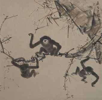 artist chen wen hsi monkeys