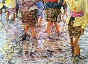 exhibition of Malaysian painter Chang Fee Ming