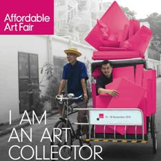 Affordable Art Fair Singapore 2012 continues the trend and buzz in the art world