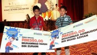2 boys win renewable energy drawing competition