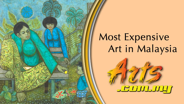 Most expensive art in Malaysia and the current art scene