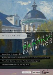 malaysia art plein