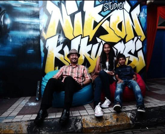Mukhriz Nikon graffiti