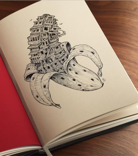 TIGA – Intricate paper works in Kickstarter Project